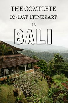 We're giving you the best route for this Bali Itinerary, sharing the best locations, and telling you how to get the most out of your next trip! Voyage Bali, Destination Voyage, Bali Travel Guide, Asia Travel, Travel Abroad, Budget Travel, Cool Places To Visit, Places To Travel, Travel Destinations