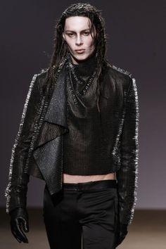 Post apocalyptic men's couture | gareth pugh FW0910/reuters via daylife