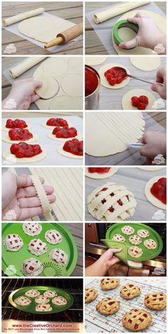 the Creative Orchard: SWEET SPOTLIGHT: Cherry Pies n Cream Sandwich