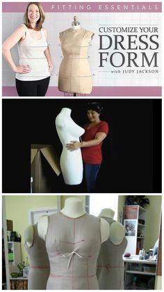 Order this kit to make your own dressform: a must-have for ...