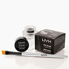 NYX Epic black mousse liner: This looks like it's going to be great dupe for Bobbi Brown Long-Wear Gel Eyeliner or Urban Decay Super-Saturated Ultra Intense Waterproof Cream Eyeliner!