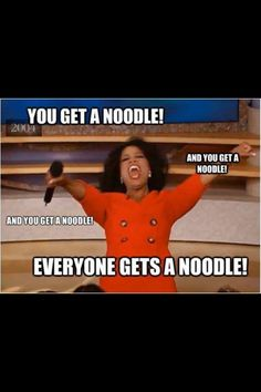 How I feel when a kid asks me for a noodle and other kids start asking me for a noodle
