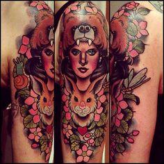 Tattoo done byAnnie Frenzel