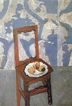 Henri Matisse Chair with Peaches 1919 - still life quick heart