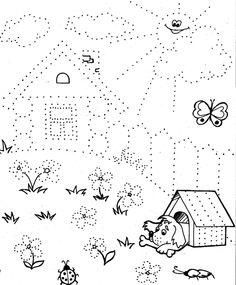 Line worksheets. Motor Activities, Educational Activities, Preschool Activities, Pre Writing, Kindergarten Worksheets, Drawing For Kids, Kids Education, Pre School, Kids Learning