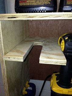 Cordless Drill Storage / Charging Station