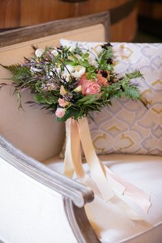 Rustic-chic bridal bouquet for a farm to table style wedding   see more on: http://www.williamsskiandpatio.com/page.cfm/outdoorwedding.html