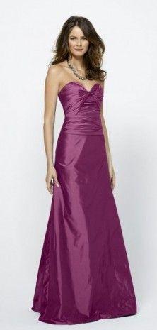 Floor Length Strapless Dropped Waist Dress $99.99