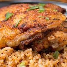 Paprika Chicken And Rice Bake
