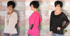 Elbow Patch Sweater - 6 Options