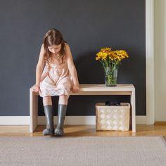 Peltola Interior Decorating, Interior Design, Sissi, Scandinavian Design, Entryway Bench, Carpet, Rugs, How To Make, Plays