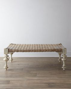 """""""Ezra"""" Seagrass Coffee Table - Horchow"""