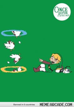 Link is playing with portals
