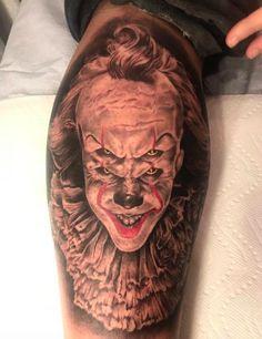 O Studio Tattooshop - Tattoo, Saint-Eustache Best Cover Up Tattoos, Best Tattoos For Women, Cool Small Tattoos, Cool Tattoos, Pennywise Tattoo, Portrait Tattoo Sleeve, Canada Tattoo, Horror Movie Tattoos, Photo Realism Tattoo