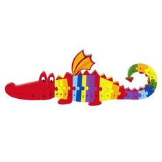 Puzle Dragon Alphabet de Orange Tree Toys