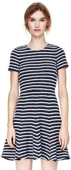 Pin for Later: Stripes For Every Summer Occasion Theory Striped Dress Theory Albita Dress in Guarda ($315)