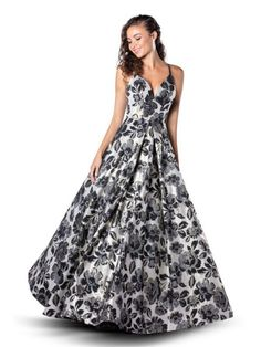 In store now Colour: Ivory/Black Size: 14 Strapless Dress Formal, Prom Dresses, Formal Dresses, Mori Lee Prom, Blush Prom, Dress First, Black Print, Size 14, Ivory