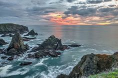Before the big storms, Paul Brewer photographed the coast at Hearn Gulch.