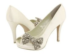 Shoes for Thought Thursday, So Pretty for the Bride : Coastside Couture