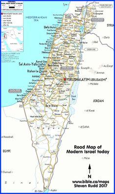 Image result for map--old testament israel--divided kingdom ... on