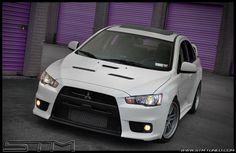 Dreams car (Evo X MR White)