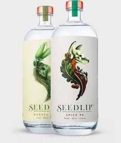 Seedlip Collection - a non-alcoholic distilled spirit.