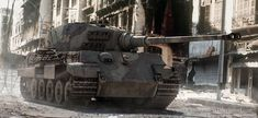 last Defenders of Berlin by King Tiger Tanks Tiger Ii, Military Art, Military History, Tank Wallpaper, Super Images, Tiger Tank, Armored Fighting Vehicle, Ww2 Tanks, World Of Tanks