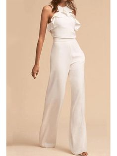 Elegant Falbala Vacation Jumpsuit Description Product Name Fashion elegant falbala vacation jumpsuit Brand Name Wakasia SKU Gender Women Season Spring/Summer Type Lady/Elegant/Fashion Occasion Office/Daily life/Date Pattern Plain Please Note Cheap Skinny Jeans, Cheap Jeans, Best Travel Pants, Casual Outfits, Fashion Outfits, Womens Fashion, Mode Blog, Overall, Mode Style