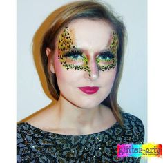 Arty Make-up / face painting for adults - club nights, hen nights, by Glitter-Arty Face Painting, Bedford, Bedfordshire