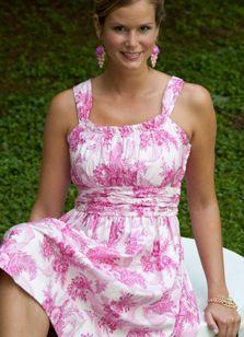 Sew yourself a beautiful dress.