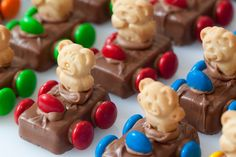 Teddy Graham race cars -- looks like a great bake sale item