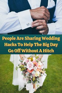 They call the day of a wedding 'the big day' for good reason. It's one of, if not the, biggest day of many people's lives.