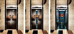 Superman elevator..