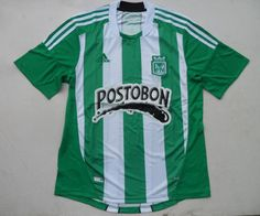 12-13 Colombia Atletico Nacional Home Top Thai Quality Soccer Jersey Shirts