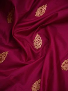 Magenta Color Floral Gold Zari Booti Pure Katan Silk Banarasi Saree Sari Dress, Saree Blouse, Celebrity Casual Outfits, Emo Outfits, Emo Dresses, Party Dresses, Fashion Dresses, Bridal Silk Saree, Saree Models