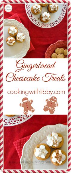 Gingerbread Cheesecake Treats | Cooking With Libby