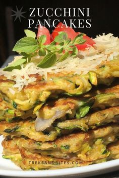 Cheesy Recipes, Mexican Food Recipes, Healthy Recipes, Keto Recipes, Zucchini Pancakes, Zucchini Cake, Vegetable Side Dishes, Vegetable Recipes, Dinner For 2