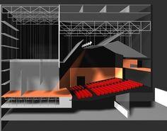 Auditorium Design, Dance Studio, Theater, Stage, How To Plan, Architecture Portfolio, Porto, School, Log Projects
