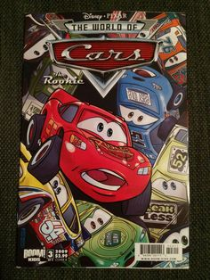 Cars: The Rookie from Disney Pixar published by Boom Kids. You get three comics. Used condition. I am an average joe offloading my personal comic book collection. Any comic graded by the CGC was submitted by me. | eBay!