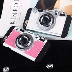 Fashion 3D Camera Model Phone Cases For iphone 5 S SE 6 s 6s Plus 7 7Plus Funky Coque Fundas back Cover New Arrival Korea Love | iPhone Covers Online