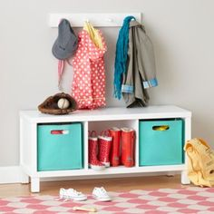 """Messes tend to come in all shapes, sizes and volumes.  Luckily, The Land of Nod's exclusive Cubic Collection is available in multiple configurations so you can keep things squared away.  It's perfect for any playroom, bedroom, living room, or any place in your house that ends in """"room. """" Choose from four versatile finishes."""