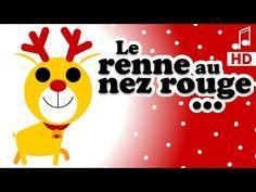 LE RENNE AU NEZ ROUGE - chanson de Noël maternelles - Philippe Jalbert - YouTube