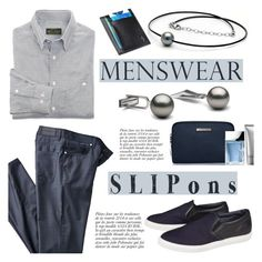 """""""Menswear Staple: Slip-Ons"""" by pearlparadise ❤ liked on Polyvore featuring Anja, 1 Voice, agnès b., Michael Kors, men's fashion, menswear, slipons, contestentry, pearljewelry and pearlparadise"""