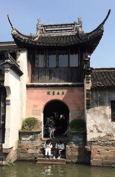 Hangzhou water town, China
