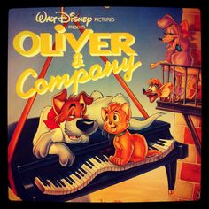 "Vintage Disney's ""Oliver and Company"""