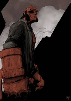 Hellboy by T-Rex Jones
