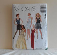 Womens Lined Top and Skirts Size 12 14 16 UNCUT by filecutter, $3.25