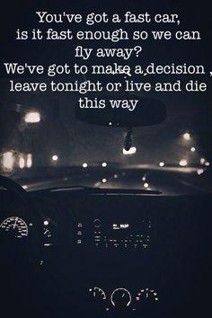 Fast car lyrics boyce avenue