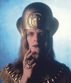 David Bowie, 1971, by Brian Ward.