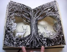 Forest Altered Books | Reflections                                                                                                                                                                                 More